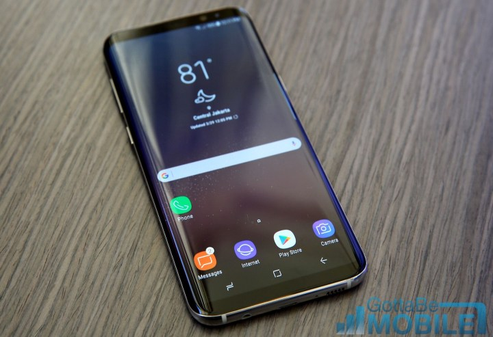 Galaxy S8+ vs Galaxy S6 Edge Plus: Display