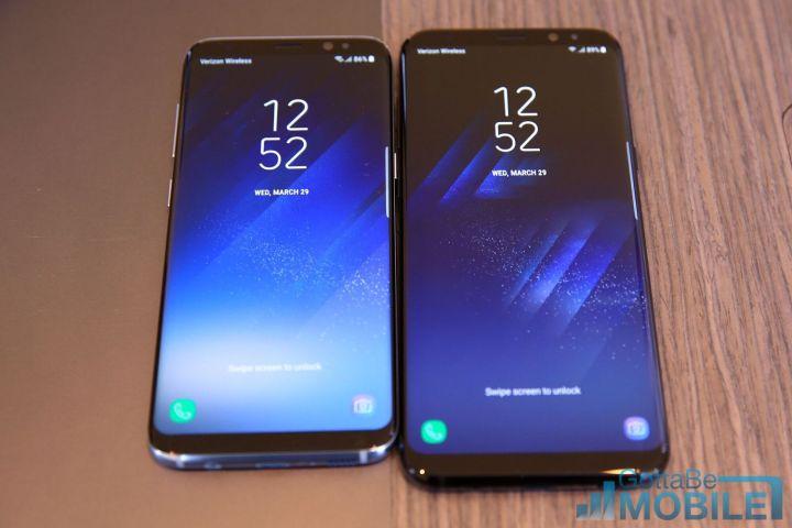 Galaxy S8+ vs Galaxy S7 Edge: Display
