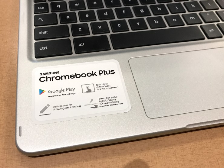 Samsung Chromebook Plus specs