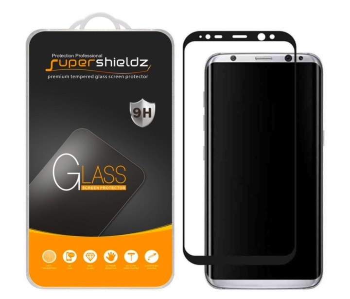 SuperShieldz 3D Glass for Galaxy S8+