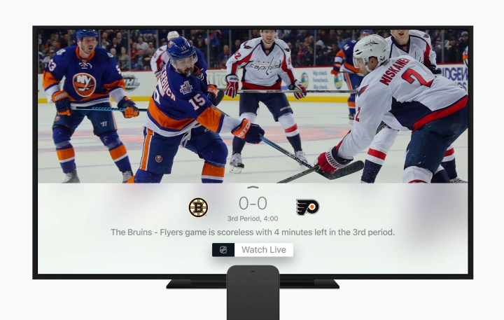 Watch Live Sports on the Apple TV