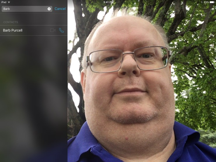 facetime camera app new 2017 ipad
