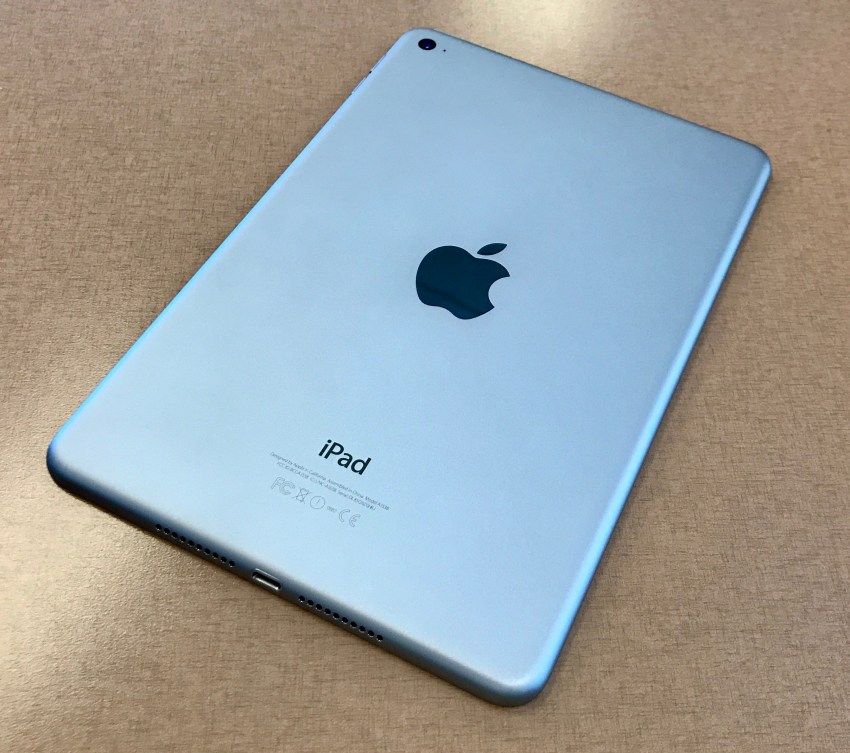 ipad mini 4 back