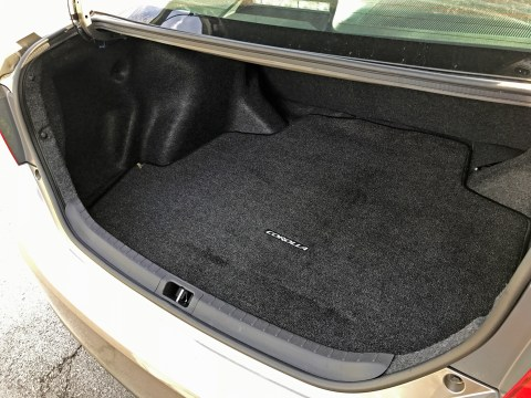 2017 Toyota Corolla Review - Trunk