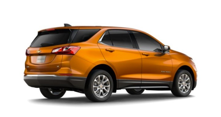 There are a lot of 2018 Equinox colors, including this bright orange.