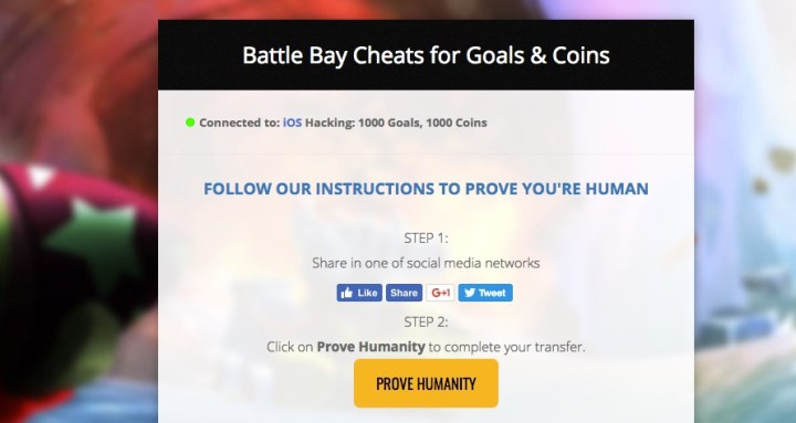 There are many Battle Bay cheats and hacks that promise you unlimited pearls, gold and sugar.