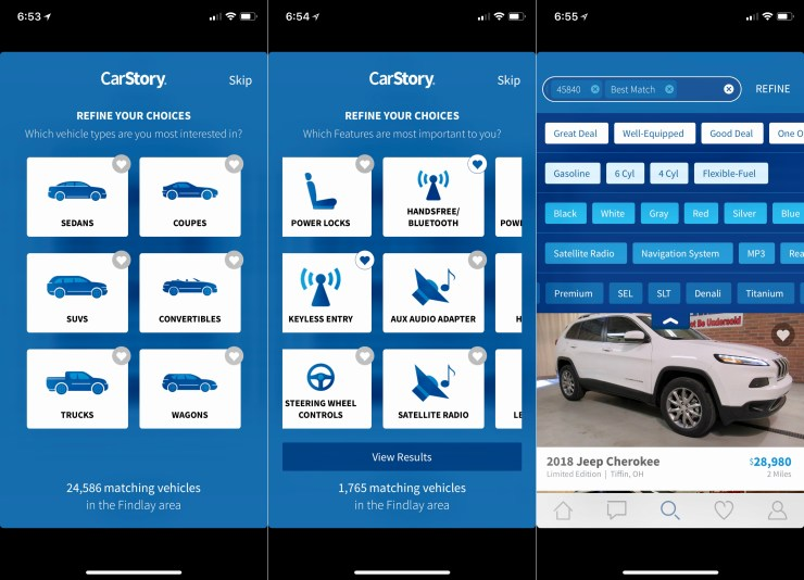 CarStory - Finds Great Deals on Used Cars