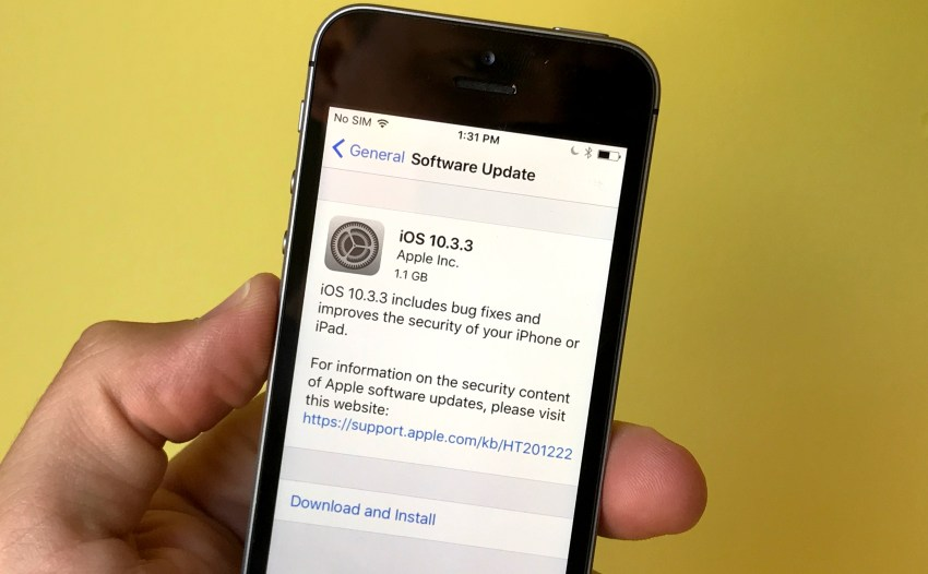 How to install iOS 10.3.3.