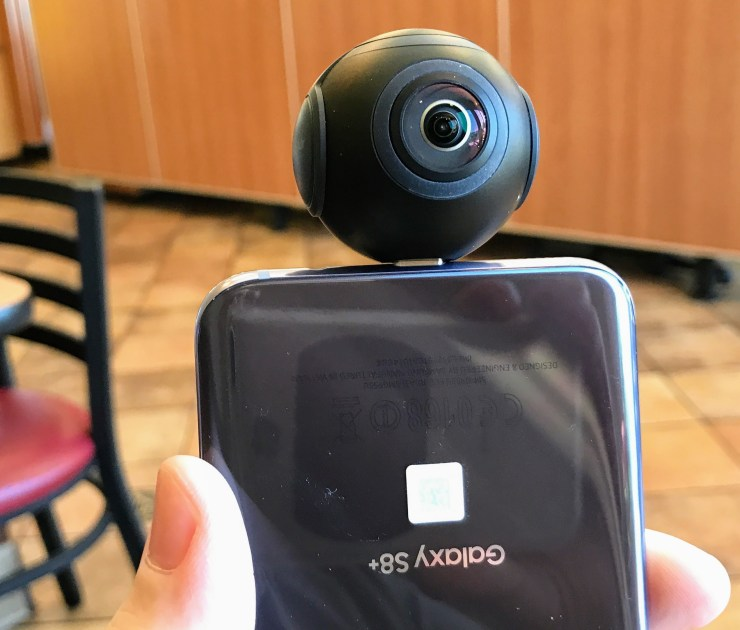 insta360 air 360 degree camera for android