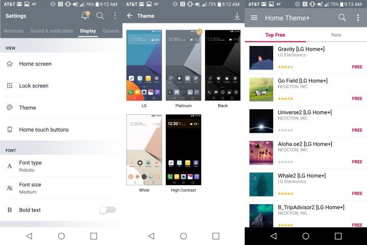 Pick a new LG G6 theme.
