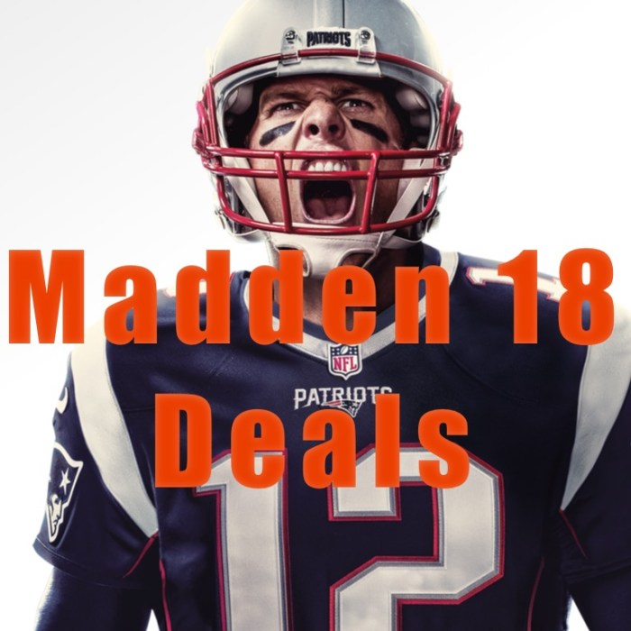 The best Madden 18 deals you can find.