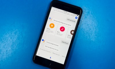 This is Google Assistant for iPhone.