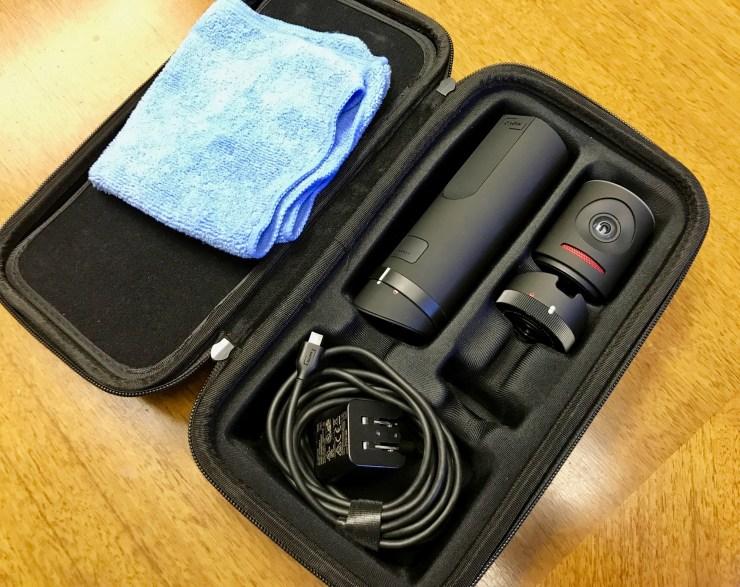 meevo camera case open