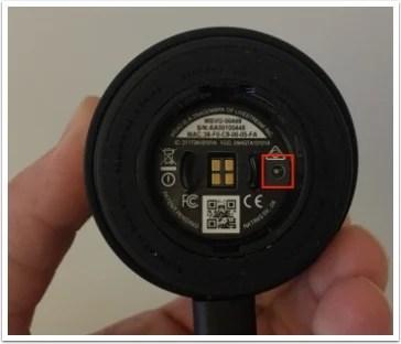 meevo camera button
