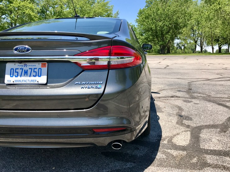 The 2017 Ford Fusion Hybrid drives nicely, but accelerates too slowly.