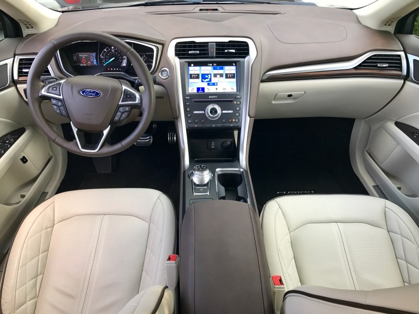 The Platinum trim level interior is very nice.