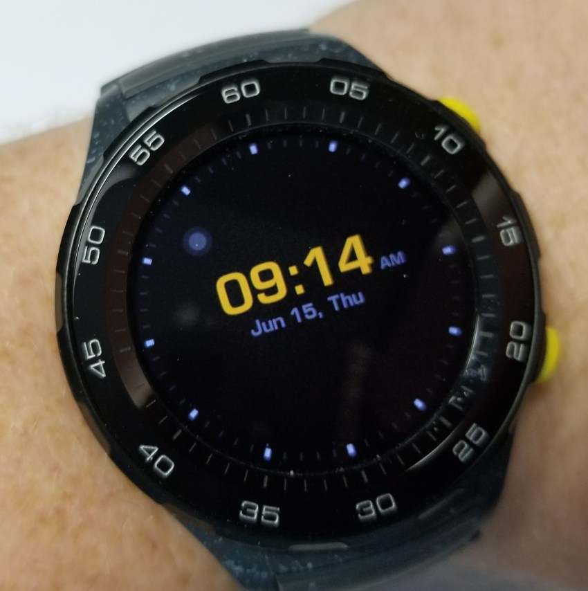 huawei watch 2 always on display