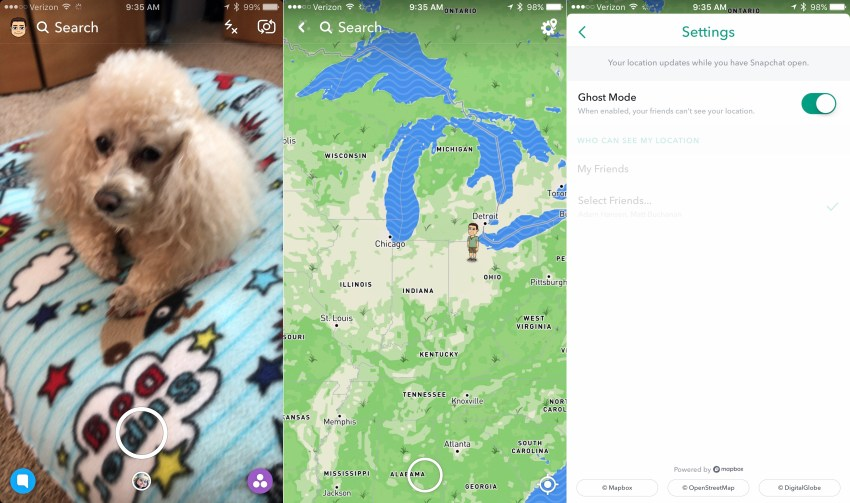 Stop sharing your Snapchat location in Snap Maps or limit who can see it.