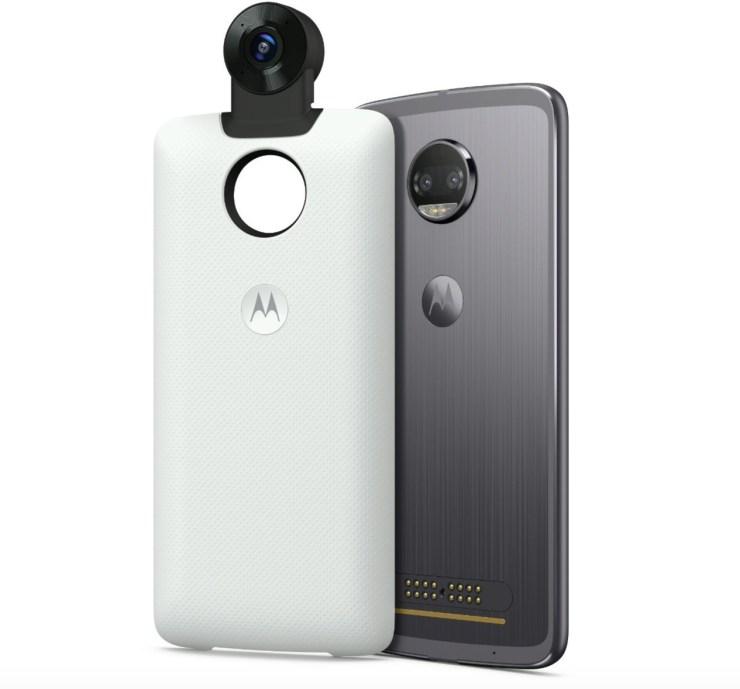 Moto 360-Degree Camera Mod