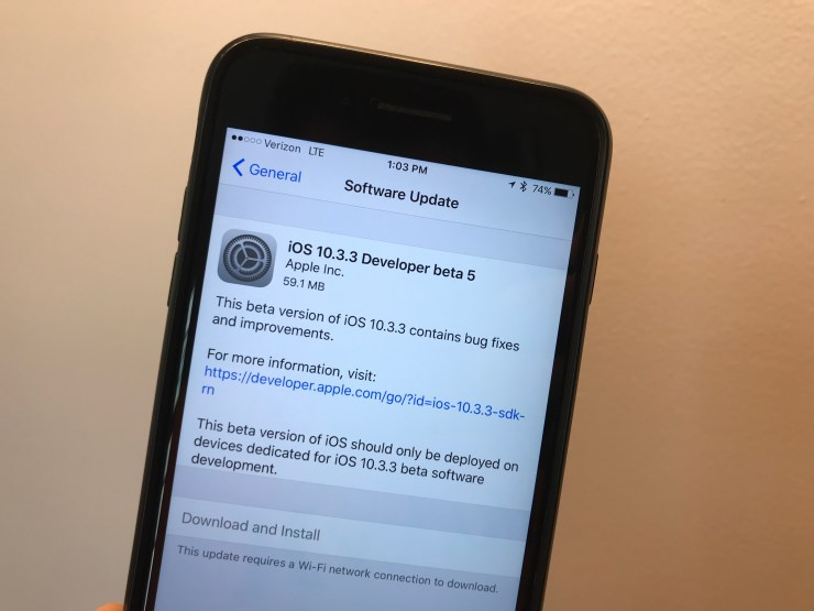 iOS 10.3.3 Release Date
