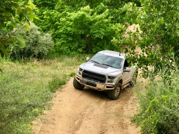 The 2017 Ford Raptor is incredibly capable off road.