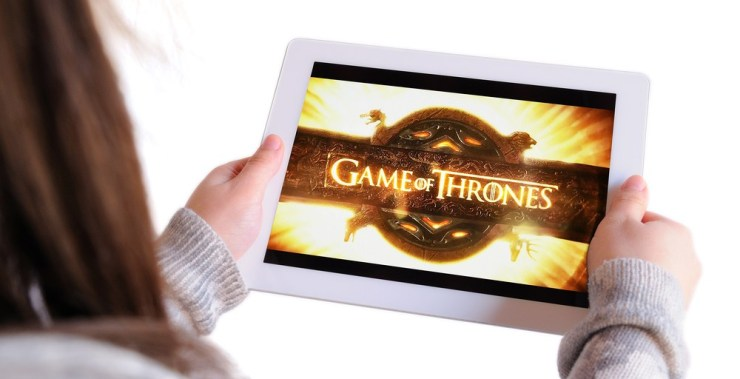 Watch Game of Thrones on demand to catch up. Christian Bertrand / Shutterstock.com