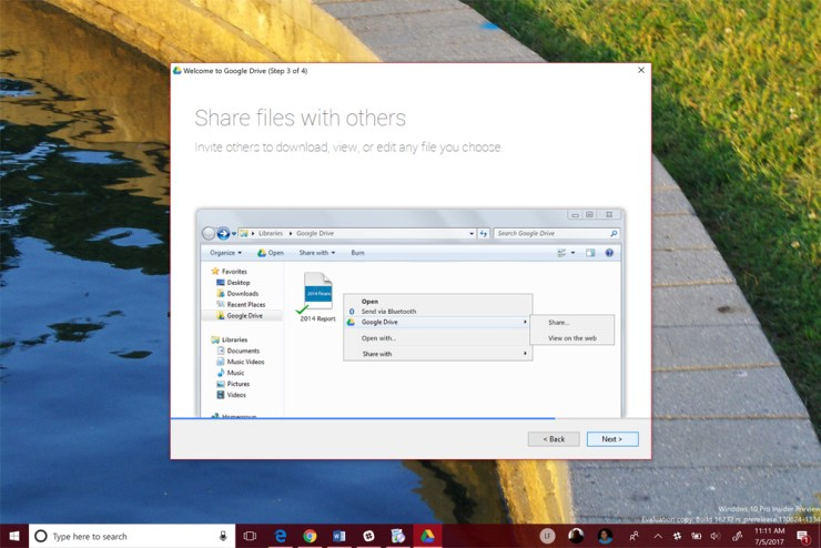 How to Use Google Drive on Windows 10