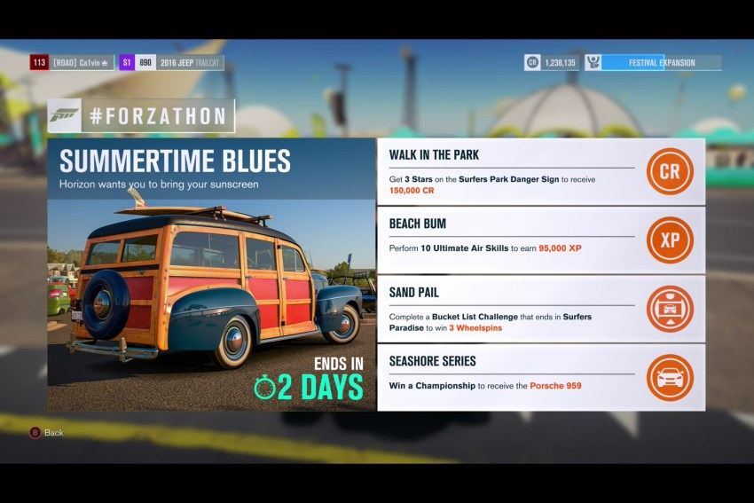 July Forzathon tips for Surfers Paradise.
