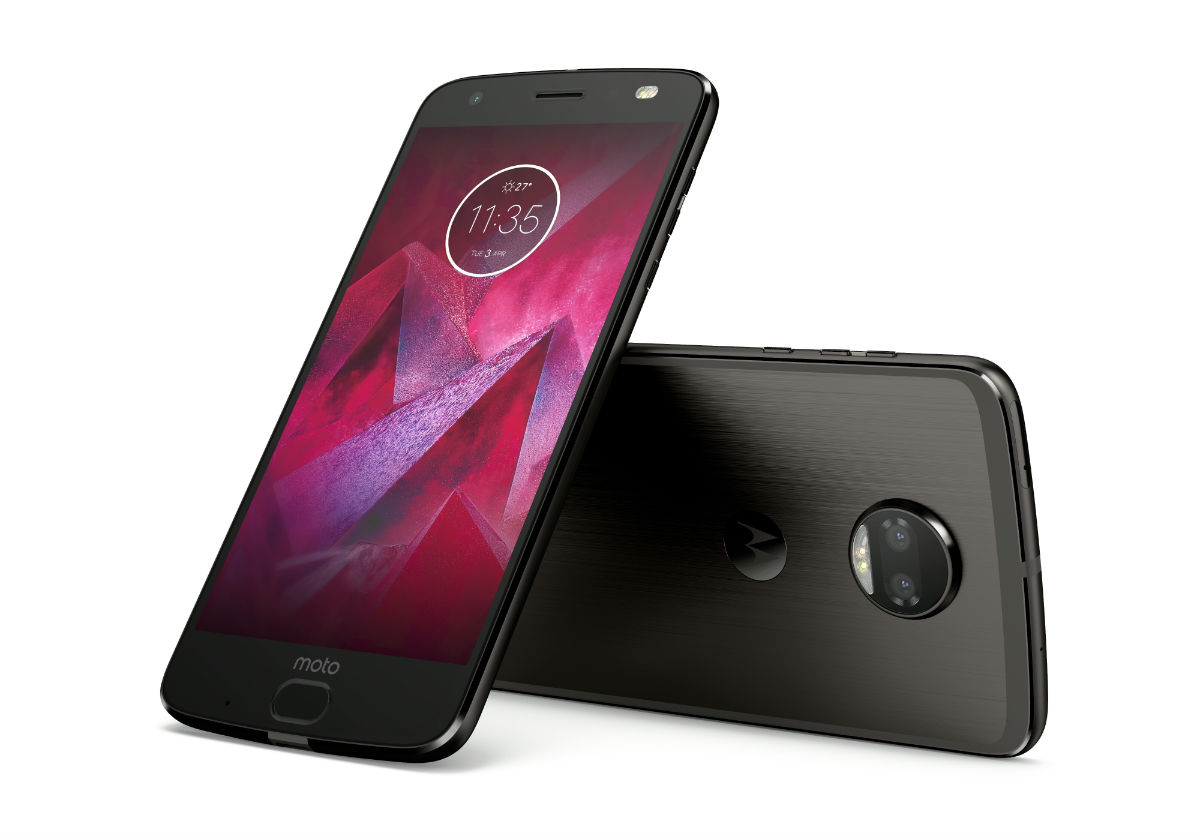 Moto Z2 Force Now Official: Familiar Design, Dual Cameras, New Moto Mod
