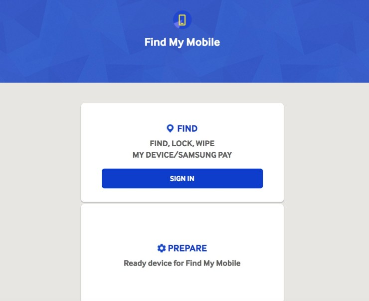 How to Find a Lost or Stolen Galaxy S8