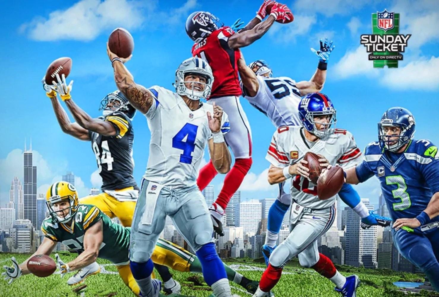 NFL SUNDAY TICKET | 2020 NFL Season | DIRECTV Official Site