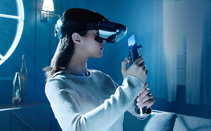 Star Wars Jedi Challenges Augmented reality lightsaber
