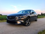 The Mazda 6 is a beautiful looking car.