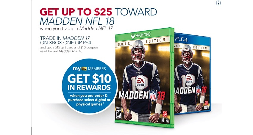 Madden 18 Deal Cuts Price To 12