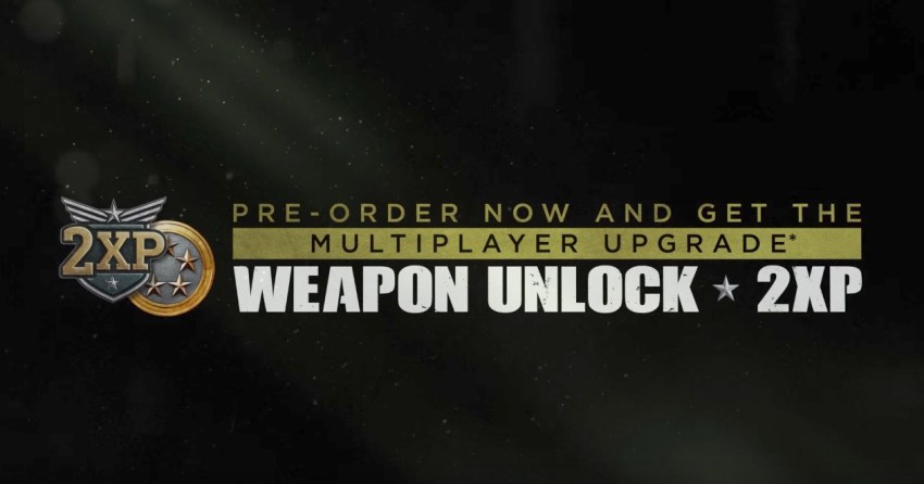Pre-Order for the Call of Duty: WWII Double XP & Weapon Unlocks