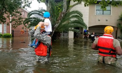 Texas National Guard soldiers help Hurricane Harvey victims in Houston Texas. CC BY-ND 2.0 Texas Military Department on Flickr