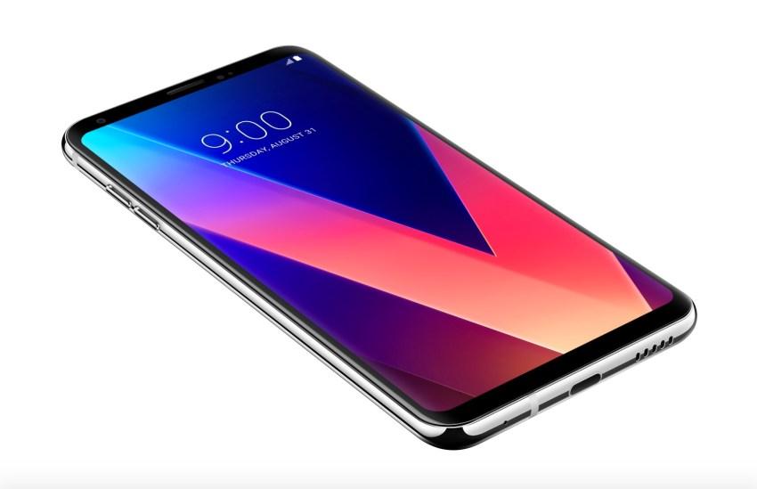 LG V30 vs LG G6: Display