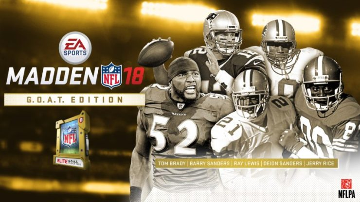 You get a G.O.A.T. Elite player and more with Madden 18 G.O.A.T. edition.