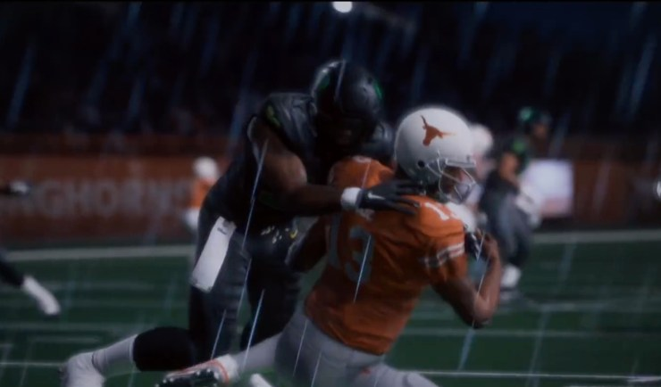 You'll play college football this year in Madden 18.