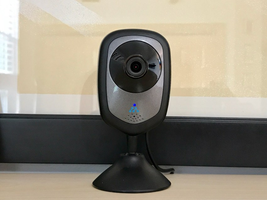 The Momentum Wifi camera is easy to set up and use.