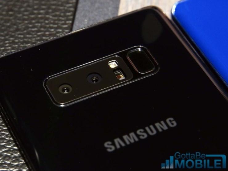 Galaxy Note 8 vs Galaxy S8+: Design