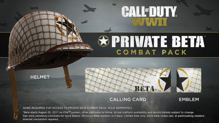 Get Free Call of Duty: WWII Gear