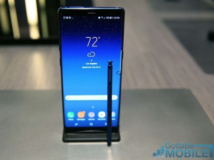 Galaxy Note 8 vs Pixel XL 2: Display