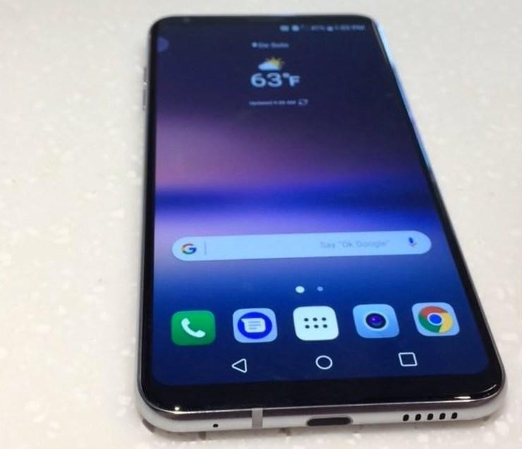 Galaxy Note 8 vs LG V30: Display