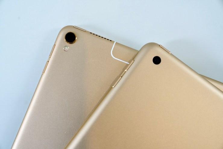 iPad vs iPad Pro camera comparison
