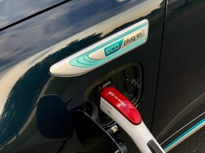 2017 Kia Optima PHEV Review charging