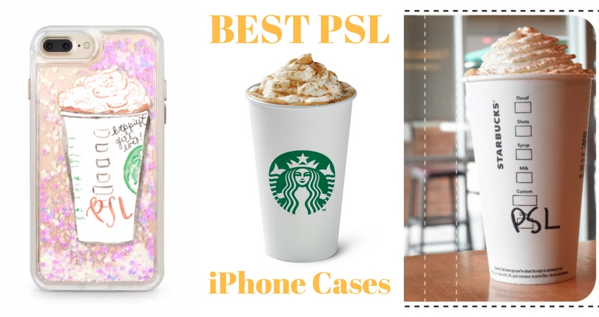 PSL iPhone cases let you show your love for the Starbucks Pumpkin Spice Latte.