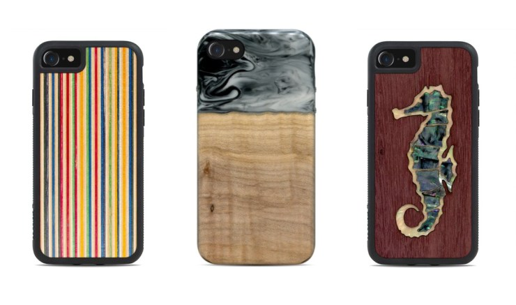 Carved Wood iPhone 8 Cases