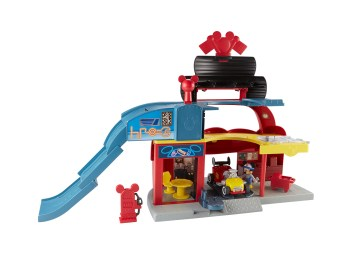 Hottest Toys 2017 - Mickey and the Roadster Racers Garage SMALL