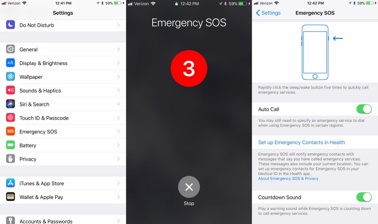 Set Up Emergency Mode to Call for Help